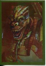 Star Wars Galaxy 7 Gold Foil Chase Card #4 Bossk