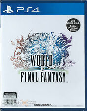 World of Final Fantasy HK Chinese Subtitle Version PS4 NEW