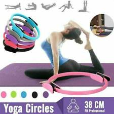Pilates Double Handle Ring Dual Grip Exercise Circle B1Q0