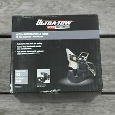 Ultra-Tow Xtp Auto-Locking Pintle Hook-15-Ton Capacity, Flat Mount