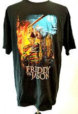 Freddy Vs Jason Tshirt 2X Horror Movie Krueger Voorhees Fright Crate Graphic Tee