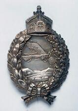 Rare WWI German Prussian Pilot's Badge_in Silver_ORIGINAL!