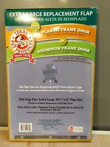Ideal Pet Products Aluminum Dog Door Vinyl Replacement Flaps - Extra Large