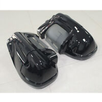 Vivid Black Lower Vented Fairing Fits For Harley Touring Electra Glide 1983-2013