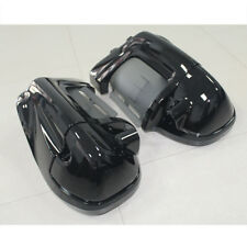 Vivid Black Lower Vented Fairing For Harley Touring Electra Street Glide 83-13
