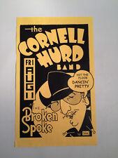 1998 GUY JUKE Cornell Hurd Band Broken Spoke Poster Austin TX