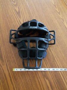 All-Star Umpire Mask DXP 2500 SUPER Light Weight Carbon Fiber