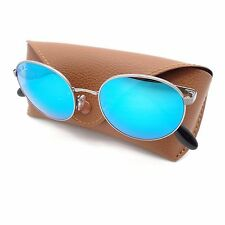 4ade5d6aa2 Ray Ban RB 3537 004 55 Gunmetal Blue Mirror Authentic Sunglasses rl