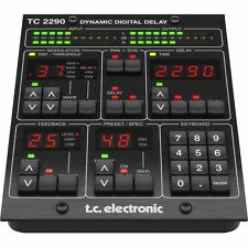 TC Electronic TC2290-DT Dynamic Delay PlugIn Controller Desktop Interface Mac PC