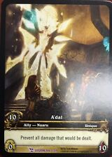 WORLD OF WARCRAFT WOW TCG EPIC EXTENDED ART : A'DAL