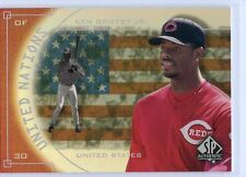 2000 SP AUTHENTIC UNITED NATIONS #UN2 KEN GRIFFEY JR CINCINNATI REDS