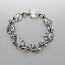 Georg Jensen Bracelet #96 Sterling Silver 925 Rare