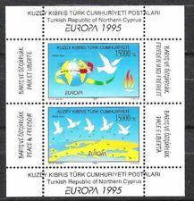 Türkisch Zypern Block Nr.14 ** Europa, Cept 1995, postfrisch