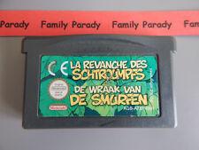 La Revanche Des Schtroumpfs Jeu Nintendo Game Boy Advance GBA cartouche