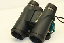 NIKON  MONARCH  5      10 x 42   BINOCULARS     sweet  view out ..bright & clear