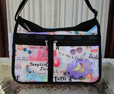 LeSportsac Deluxe Everyday Bag Tutti Fruitti Crossbody Tropical Holiday 2215 NWT