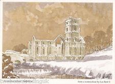 Postcard: Les Bott - Fountains Abbey, North Yorkshire (Pilkington Family Trust)