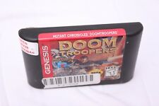 Sega Genesis -  Doom Troopers Mutant Chronicles - Game Only