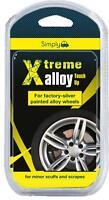 Car Silver Alloy Wheel Touch Up Repair Kit Minor Scuff Scrape Kerb Damage