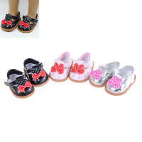 "18 ""American Girl zapatos de muñeca de 43 cm accesorios para bebFWS"