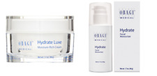 Obagi Hydrate Facial Moisturizer 1.7 oz & Hydrate Luxe 1.7 oz Set