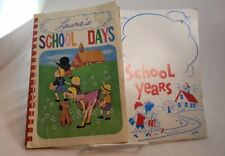 1979 Set of 2 School Day/School Years Memory Albums (W)