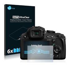 6x Film Protection écran pour Panasonic Lumix DC-FZ82 Protecteur