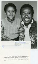 EMMANUEL LEWIS BEN VEREEN SMILING PORTRAIT WEBSTER ORIGINAL 1984 ABC TV PHOTO