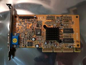 SiS CS305 305 Ver 1.0 16M 16MB AGP Video Graphics Card VGA Legacy GPU