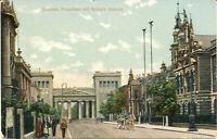 AK München, Propyläen mit Schack-Galerie, gel. am 15.8.1910 nach Frankfurt/Oder