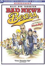 Bad News Bears (DVD, 2005, Widescreen) - Brand New Sealed - Collector's Edition