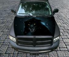 Big Bad Black Wolf Vinyl Graphic Decal Hood Wrap For Truck or Car