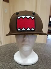 Official DOMO Japan Anime Brown Monster Robot Baseball Cap Hat Stitched SnapBack