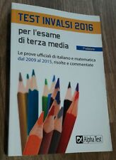 Test Invalsi 2016 per l'esame di terza media Alpha Test