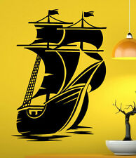 Marine Ship Wall Decal Vinyl Sticker Nautical Pirates Interior Art Decor (15shp)