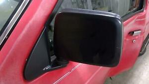 90-97 Nissan Hardbody Pickup D21 Left Driver Door Mirror (Black) OEM Tested