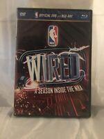 A NBA: WIRED - A SEASON INSIDE THE NB (BLU-RAY/DVD, 2012, 2-DISC SET) NEW