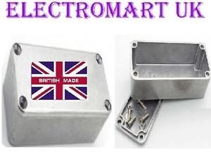 ALUMINIUM DIECAST ELECTRONICS PROJECT BOX ENCLOSURE 52 X 38 X 31MM