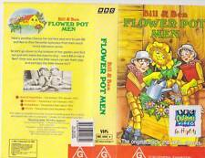 BILL AND FLOWER POT MEN VHS PAL VIDEO  A RARE FIND