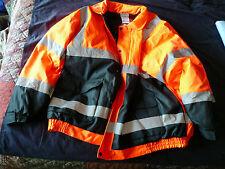 UTILITY PRO WEAR UHV562O-5XL Bomber Jacket,Insulated,Orange/Black,5XL SAVE $60!