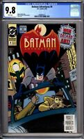 Batman Adventures 9 CGC Graded 9.8 NM/MT DC Comics 1993
