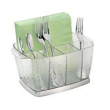 New Flatware Caddy Silverware Organizer Store Kitchen Holder Utensil Cutlery