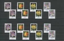 BRD Rollenmarken Blumen 16 verschiedene Zählnummern, postfrisch