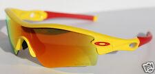 OAKLEY Radar Path ASIAN FIT Sunglasses Yellow/Fire Iridium NEW Daeho Lee 09-754J