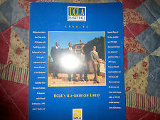 1994-95 UCLA BRUINS BASKETBALL MEDIA GUIDE Yearbook NCAA CHAMPS 1995 College AD