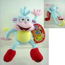 "NEW 10"" Dora the Explorer Boots The Monkey Stuff Plush Doll Toy +CHARM FREE SHIP"