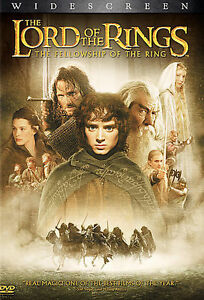 The Lord of the Rings: The Fellowship of the Ring (DVD, 2002, 2-Disc Set)