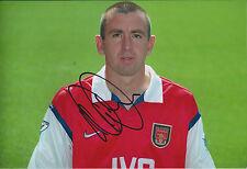 Nigel WINTERBURN Signed Autograph 12x8 Photo AFTAL COA ARSENAL Genuine RARE