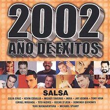Various Artists : 2002 Ano De Exitos: Salsa CD