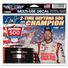 "DALE EARNHARDT JR #88 2014 DAYTONA 500 CHAMPION NASCAR 6""X 4"" MULTI-USE DECAL"